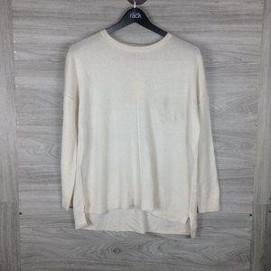 Catherine Malandrino Funnel Neck Cashmere Sweater